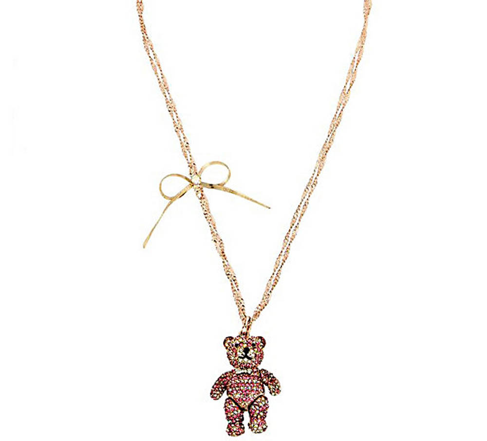 Betsey Johnson Jewelry SWEET SHOP BABY BEAR PENDANT